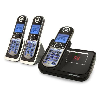DECT 6.0 3-Handset Cordless Phone with Answering System