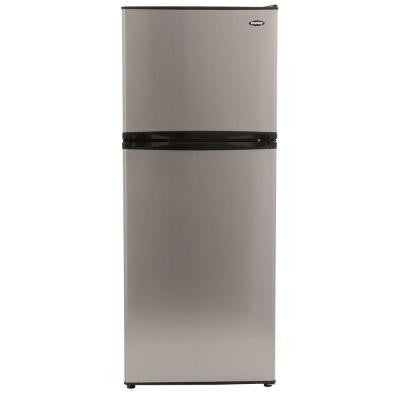 9.9 cu. ft. Top Freezer Refrigerator in Stainless Look, Counter Depth