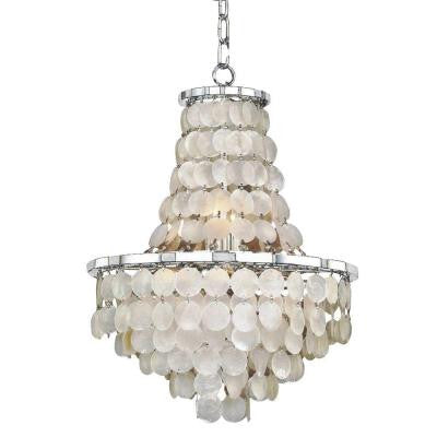 Veranda 8-Light Chrome Chandelier