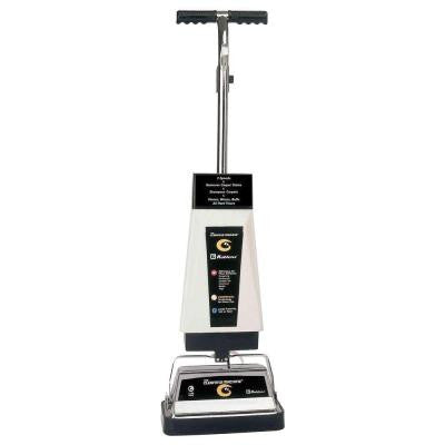 Upright Rotary Hard Floor and Carpet Cleaning Machine that Scrubs and Polishes Floors