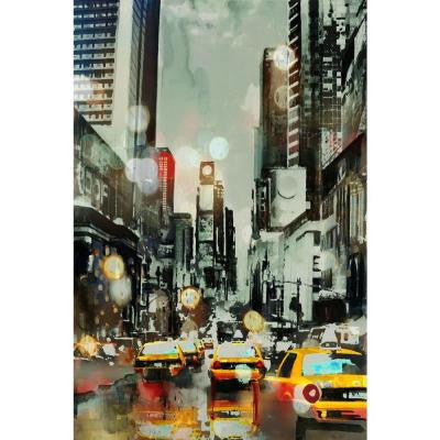 "45 in. x 30 in. ""After The Rain"" by Peyton Gray Gallery Wrapped Canvas Wall Art"