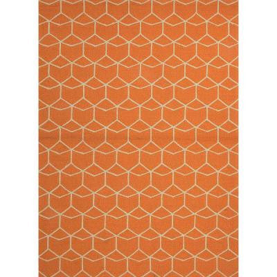 Impulse Bombay Brown 5 ft. x 7 ft. 6 in. Geometric Area Rug