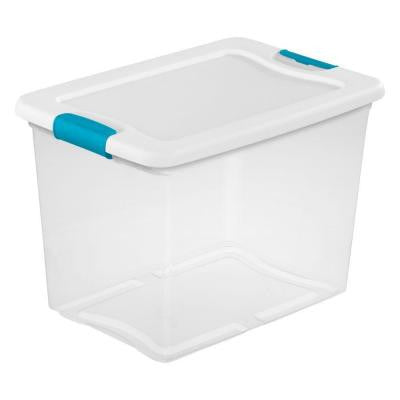 Latching 25 Qt. Storage Box