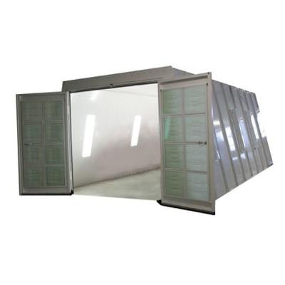 13 ft. x 8 ft. x 23 ft. Crossdraft Spray Booth with Exhaust Duct and UL Listed Control Panel in Northeast Region