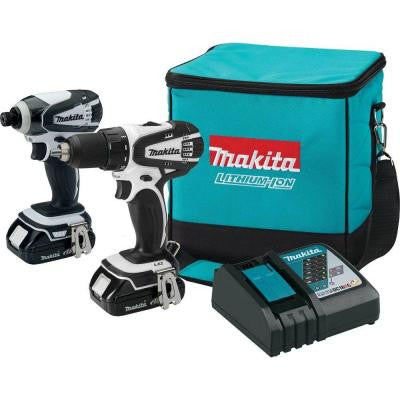18-Volt Compact Lithium-Ion Cordless Combo Kit (2-Piece)