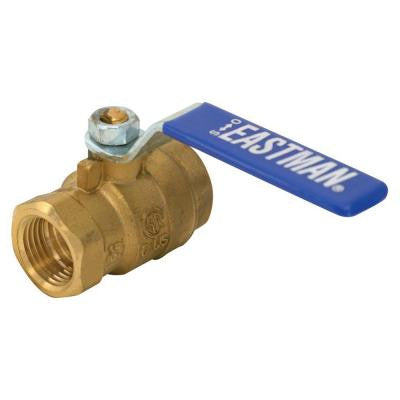1-1/2 in. x 1-1/2 in. Brass IPS Full Port Ball Valve