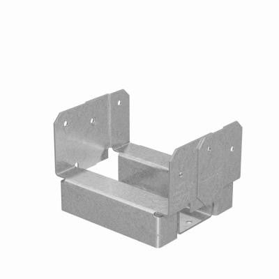 ABA 4x4 Rough ZMAX Galvanized Adjustable Post Base