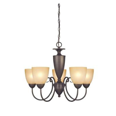Chapel Hill 5-Light Oil Rubbed Bronze Chandelier