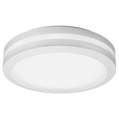 White Outdoor LED Decorative Ceiling-Mount Light