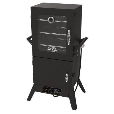 38 in. Vertical Propane Gas Smoker with Window