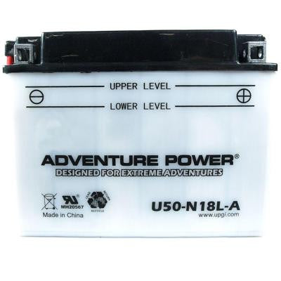 Conventional Wet Pack 12- Volt 20 Ah Capacity G Terminal Battery