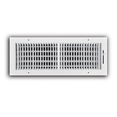 18 in. x 6 in. 2-Way Wall/Ceiling Register