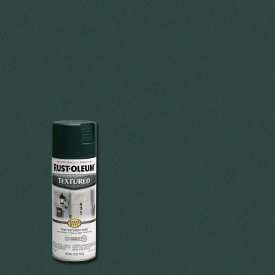 12 oz. Textured Forest Green Protective Enamel Spray Paint (Case of 6)