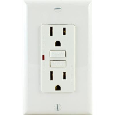Ground Fault Receptacle - White