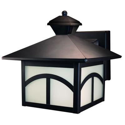180° Motion Activated Oil Rubbed Bronze Decorative Lantern