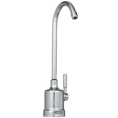 1-Handle Top Mount Air Gap Faucet in Chrome with Monitor for Reverse Osmosis System
