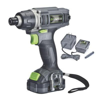 12-Volt Lithium-Ion 1/4 in. Hex Cordless Torque Impact Driver