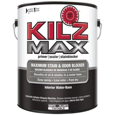 MAX 1-gal. White Water-Based Interior Primer, Sealer and Stain-Blocker