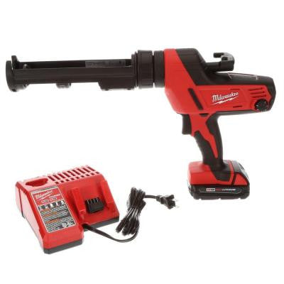 M18 18-Volt Lithium-Ion Cordless 10 oz. Caulk and Adhesive Gun Kit