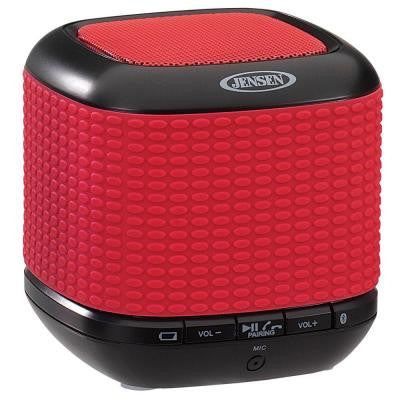 Portable Rechargeable Bluetooth Wireless Speaker with NFC - Red