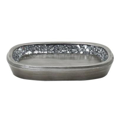 Altair Soap Dish in Pewter