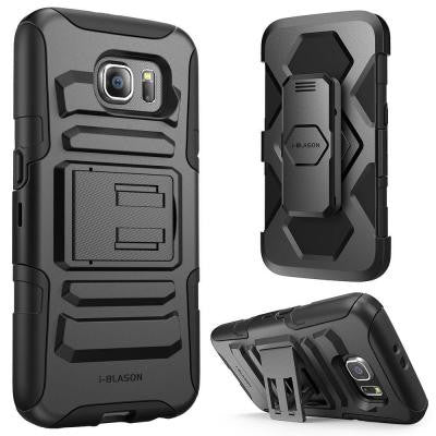 Rugged Holster Case for Galaxy S6 - Prime Black