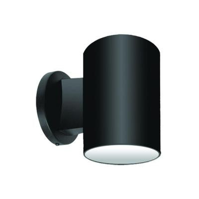 1 Light Black Outdoor Incandescent Wall Mount Light