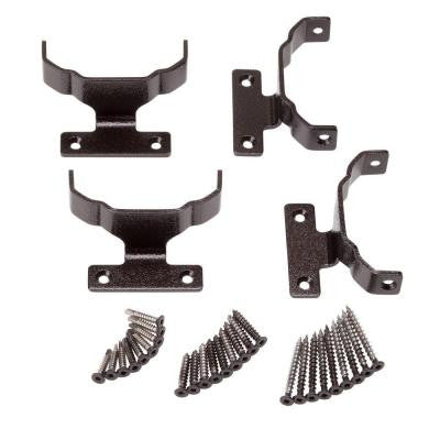 Bronze Straight Rail Bracket Kit