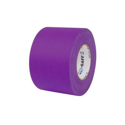 4 in. x 55 yds. Purple Gaffer Industrial Vinyl Cloth Tape (3-Pack)