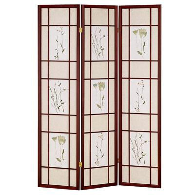 3-Panel Cherry Shoji Screen