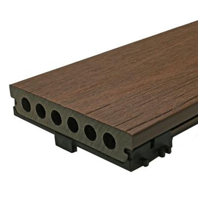 Deck-A-Floor Pro 13.4 sq. ft. Composite Decking Kit in Spanish Walnut