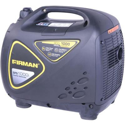 1,000-Watt Surge Gasoline Powered Inverter Generator with 900 Running Watt Recoil Start and Twin-Technology