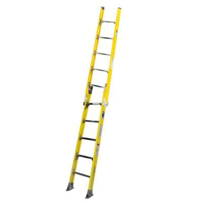 6 ft. Fiberglass Tapered Sectional Ladder with 375 lb. Load Capacity Type IAA Duty Rating - Intermediate Section