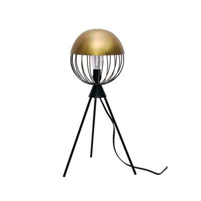 Orion 20 in. Matte Black Table Lamp