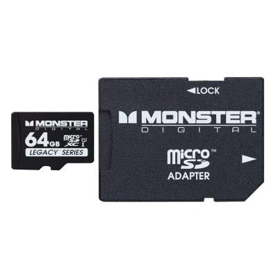 64GB SDHC Micro SD Memory Card