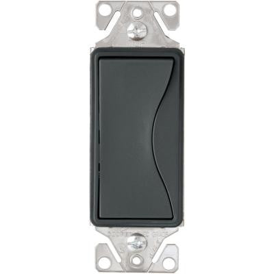 Aspire 15-Amp Side Wire/Pushwire 3-Way Switch - Silver Granite