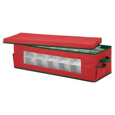 42-Slot Ornament Storage Box