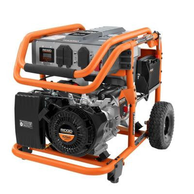 7,500-Watt 420cc Gasoline Powered Electric Start Portable Generator