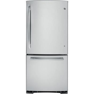 20.3 cu. ft. Bottom Freezer Refrigerator in Stainless Steel
