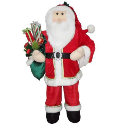 50 in. Traditional Santa