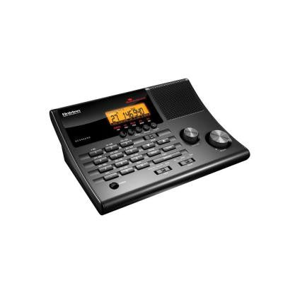CRS AM and FM Clock Radio Base Scanner with 500 Channels in 10 Banks