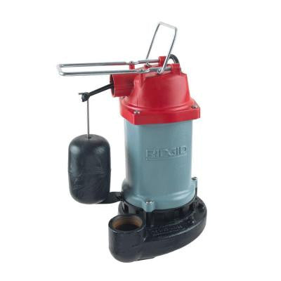 1/2 HP Submersible Sump Pump with Vertical Float Switch