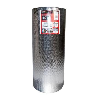 4 ft. x 250 ft. Double Reflective Insulation Roll with Double Air