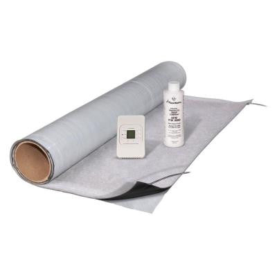 2 ft. x 3 ft. Under-Tile Heating Kit with Mat, Thermostat and 8 oz. Primer
