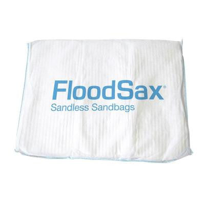 20 in. x 19 in. Instant Sandless Sandbags/Water Absorbent Pad in White (10-Bag)