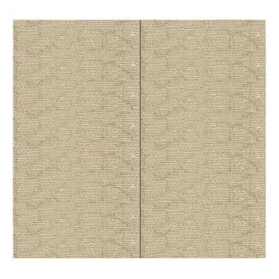 64 sq. ft. Latte Fabric Covered Full Kit Wall Panel