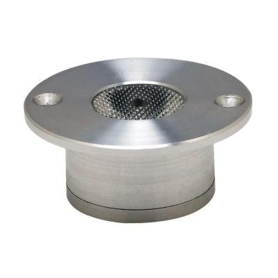 Cannon Brushed Aluminum Recessed LED Button Light