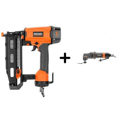 16-Gauge 2-1/2 in. Straight Nailer and Pneumatic JobMax Multi-Tool Starter Kit