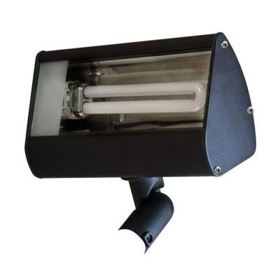 Adrien 1-Light Black Outdoor Flood Light