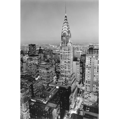 69 in. x 45 in. Chrysler Building Wall Mural